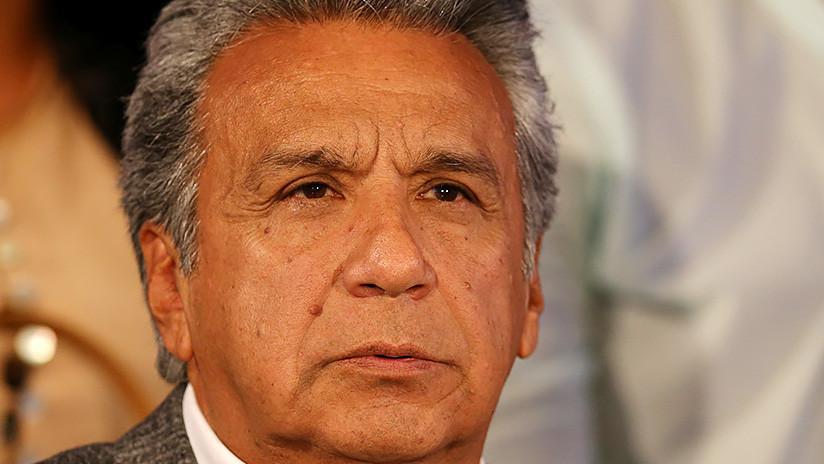 Destituyen a Lenín Moreno como líder del partido gobernante en Ecuador