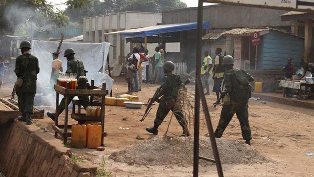 Al menos 10 muertos en ataque con granadas contra un bar en R. Centroafricana