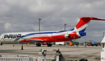 Aerolínea dominicana PAWA opera
