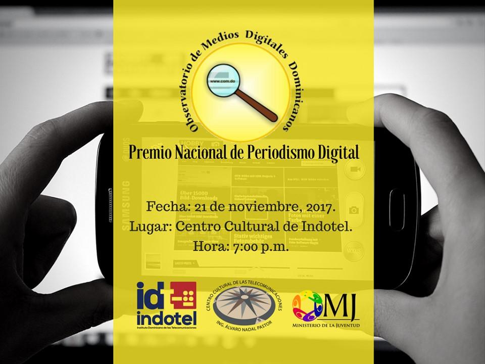 Emisión Digital de Noticias SIN entre nominados a Premio Nacional de Periodismo Digital