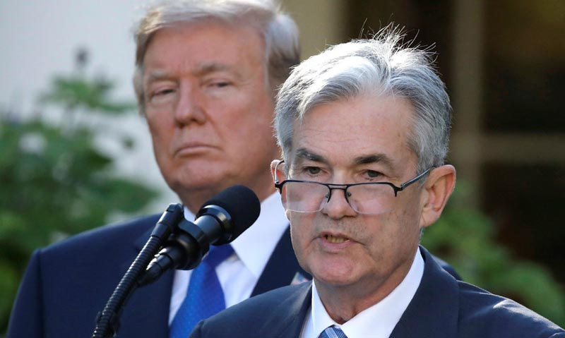 El candidato de Trump a presidir la Fed promete continuidad