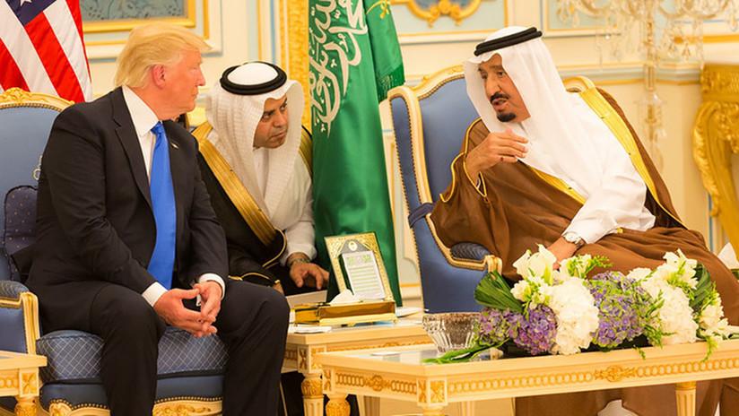 Trump apoya a Arabia Saudita en su lucha contra los 'ordeñadores' del reino