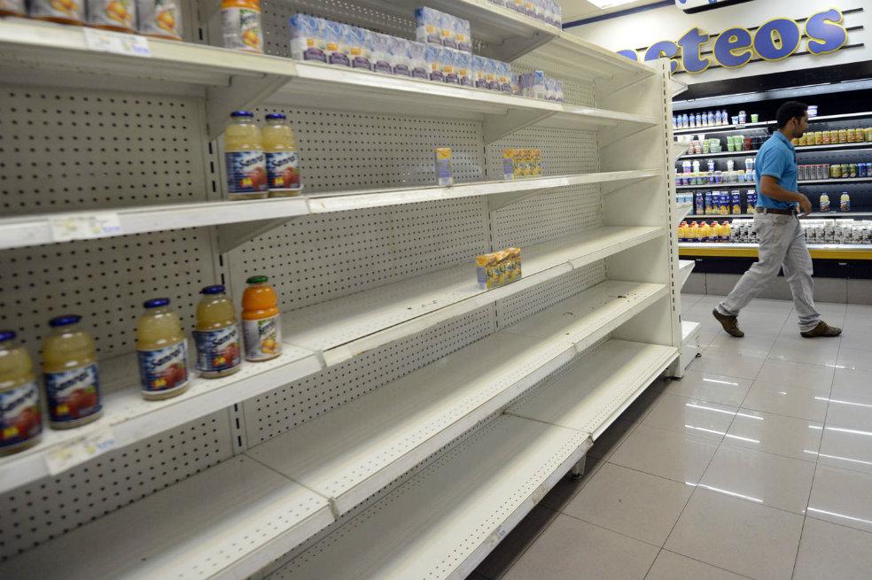 Oposición venezolana pide que salida a crisis alimentaria se trate en diálogo