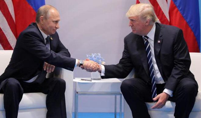 Trump y Putin hablaron hoy por teléfono, según la Casa Blanca
