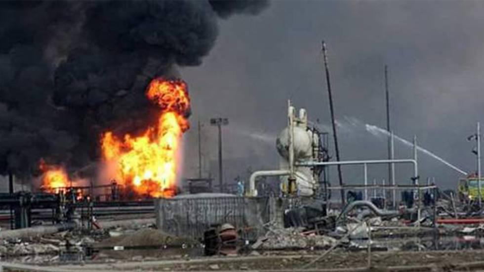 Dos muertos y un herido en explosión de tanque de petróleo en Perú