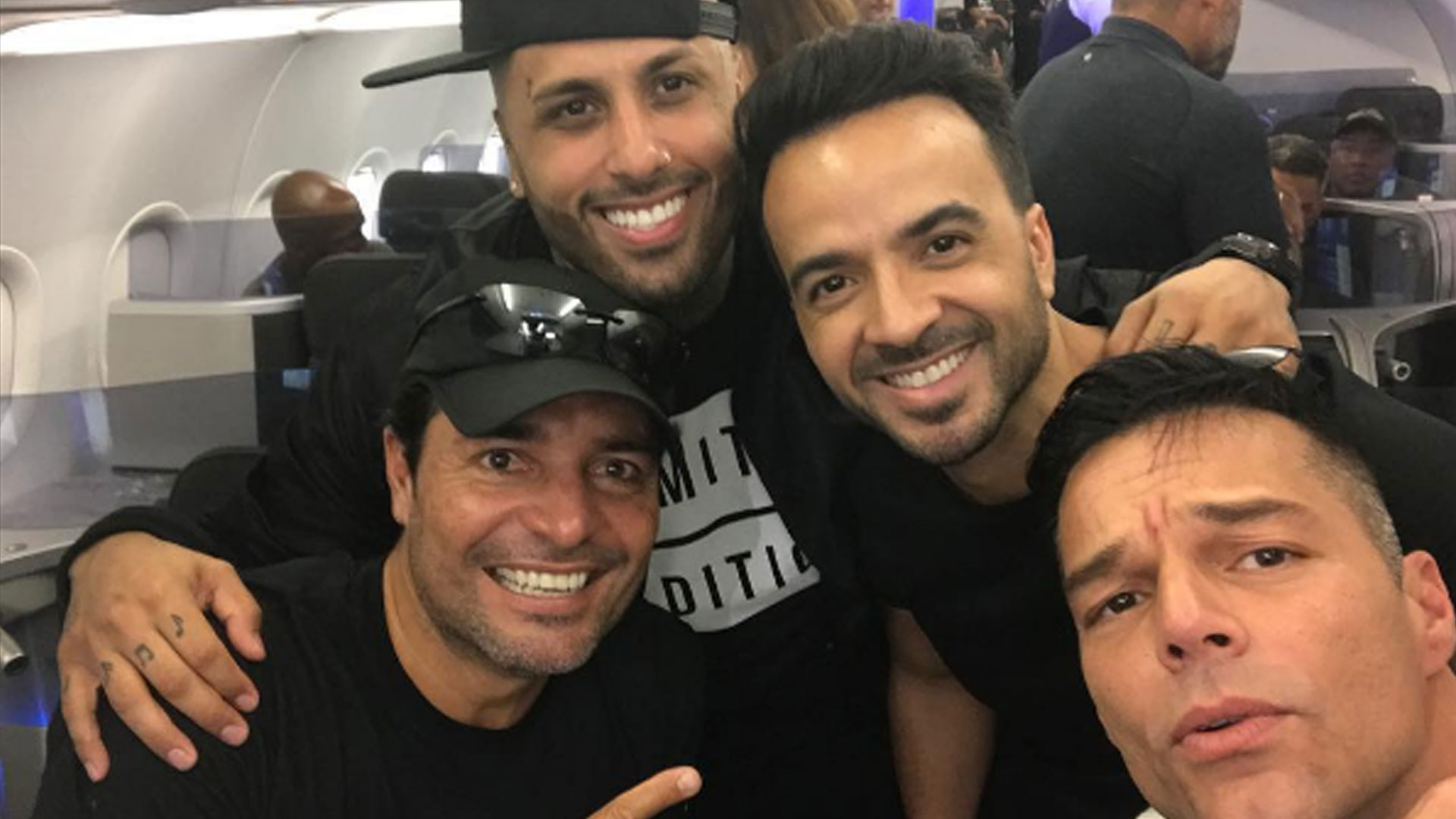 Ricky Martin, Luis Fonsi y Chayanne en Puerto Rico por Navidad