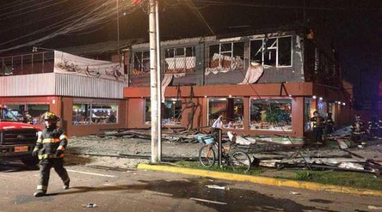 Fiscal de Quito acusa a chino por explosión en restaurante que dejó 2 muertos