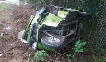 Un muerto y un herido en accidente carretera de Manzanillo