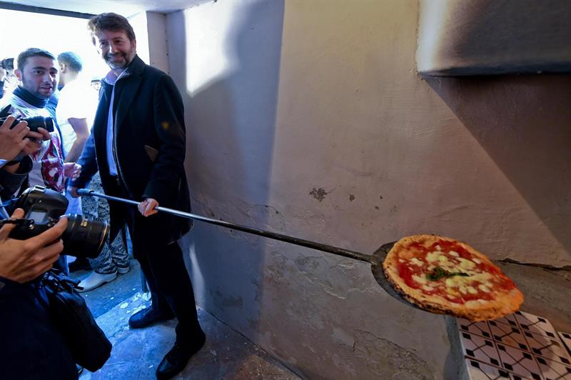 La pizza busca el reconocimiento mundial en el horno donde se hizo leyenda