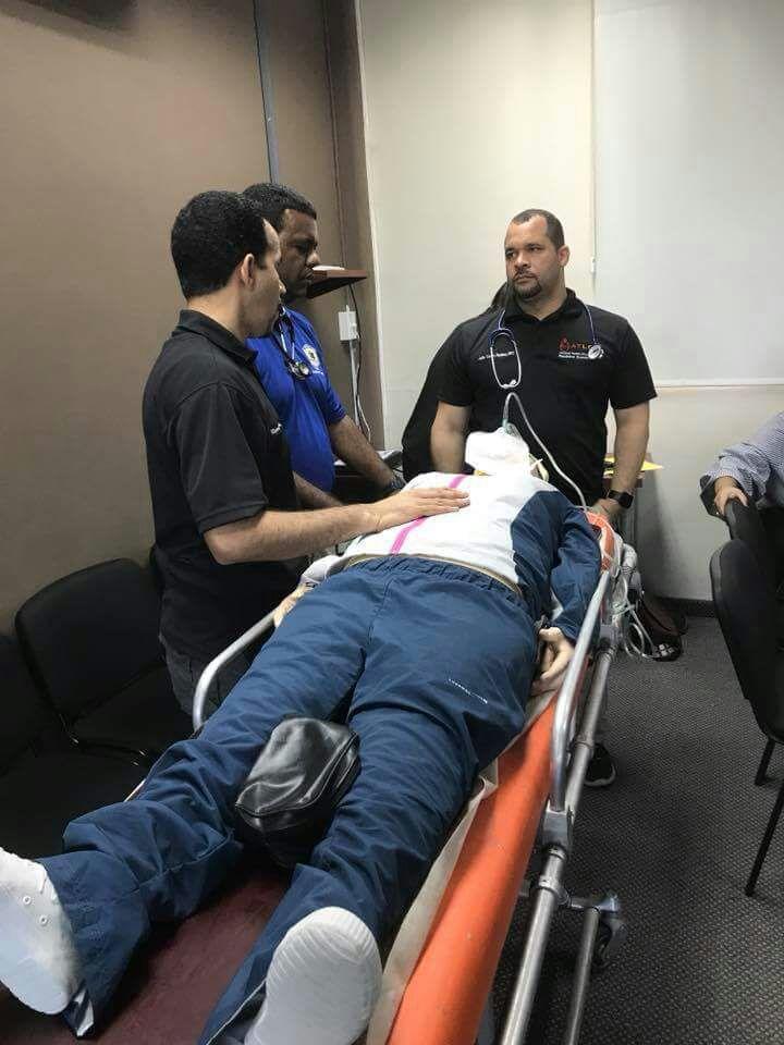 RD país No. 84 a nivel mundial que realizará entrenamiento de manejo avanzado de trauma