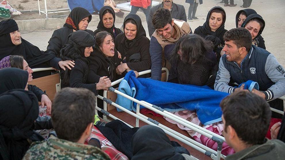 Al menos nueve heridos en un terremoto de magnitud de 5,4 en noreste de Irak