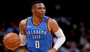 Westbrook anota 31 puntos y Thunder logran quinto triunfo seguido