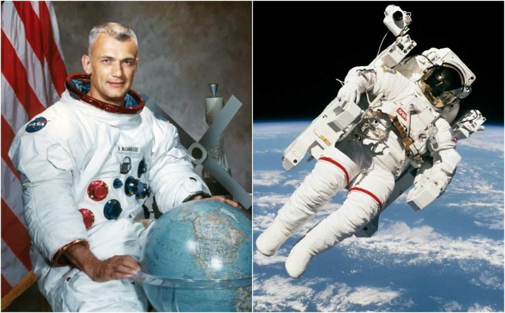 Muere Bruce McCandless, primer astronauta en flotar sin atadura en el espacio