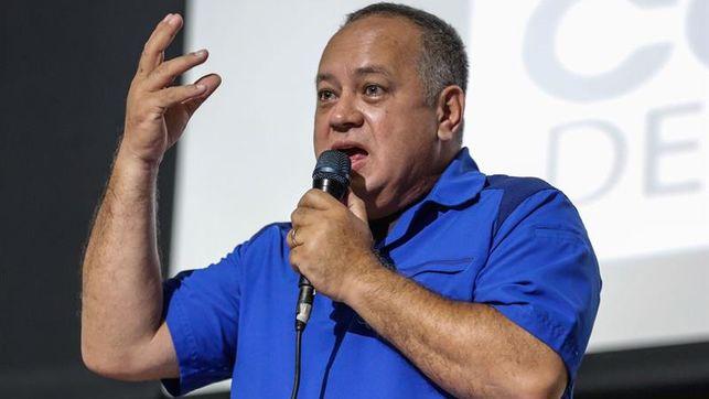 Cabello dice que en diálogo venezolano no habrá negociación ni cambiará nada