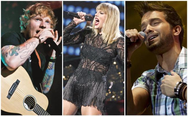 Lo último de Sheeran, Swift y Alborán, entre los 10 discos que marcaron 2017