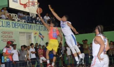 Realizan novena edición de torneo de baloncesto, en el Club Villa Juana