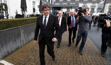 Puigdemont comparece ante el juez belga que decidirá sobre su entrega a España