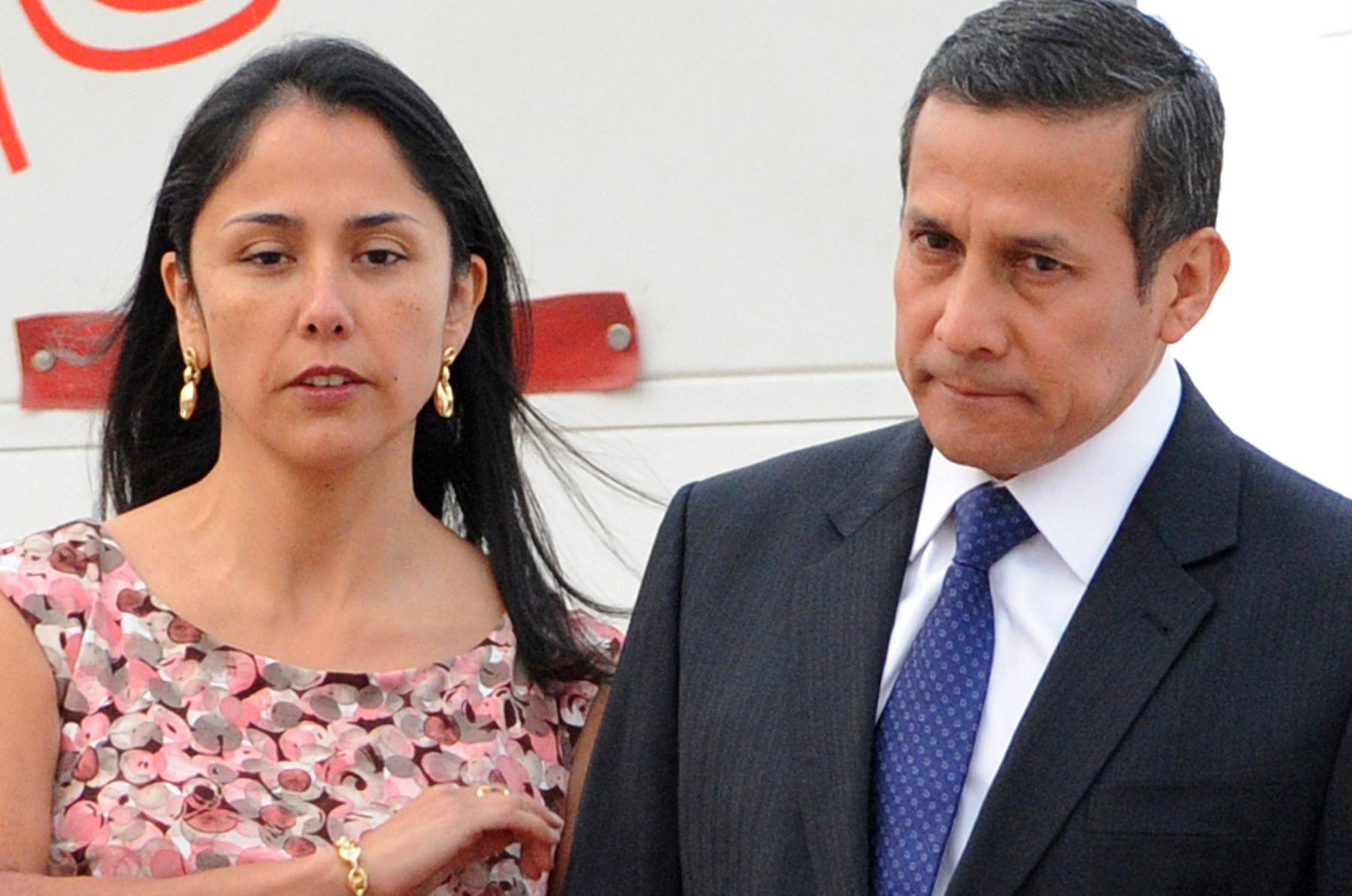 Juez pidió inhibirse ante recurso planteado por Ollanta Humala y su esposa