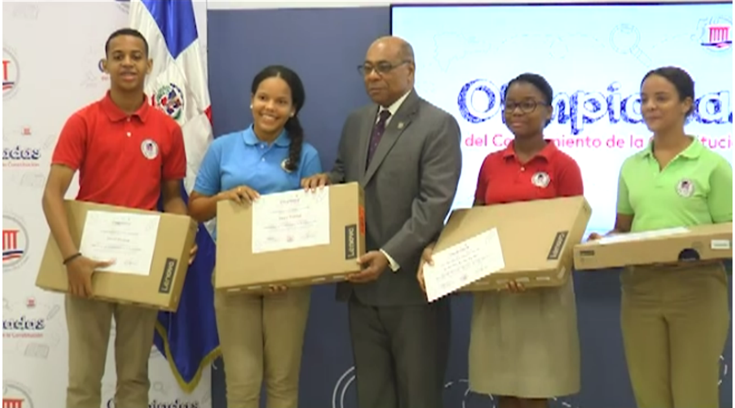 TC reconoce a estudiantes de Olimpiadas del Conocimiento de la Constitución 2017