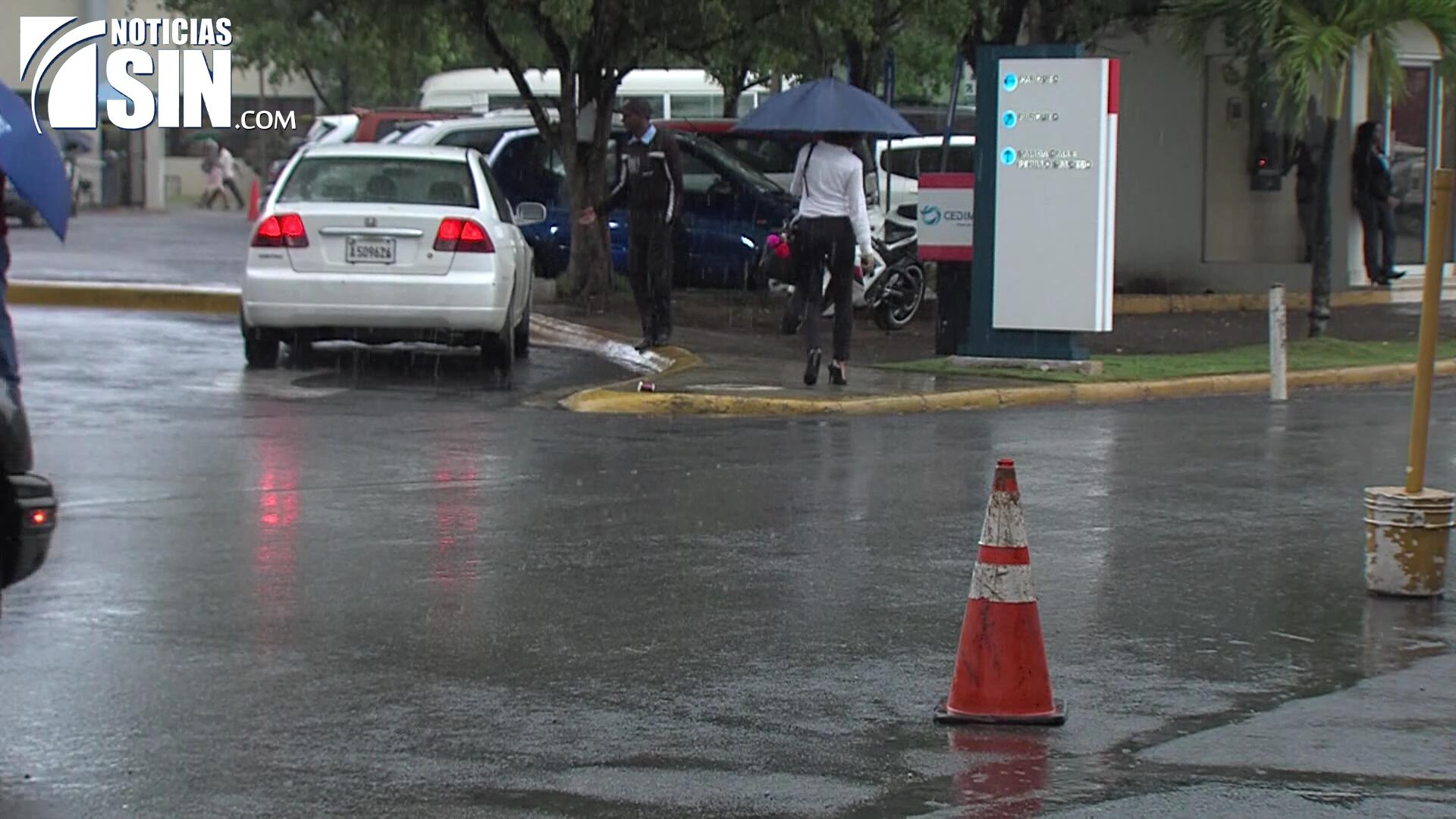Onamet pronostica algunas lluvias hacia el norte y nordeste del país