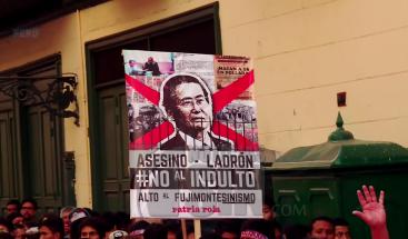El indulto a ex presidente Alberto Fujimori genera fuertes protestas en Perú
