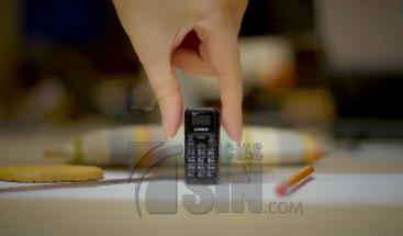 Crean celular más pequeño del mundo