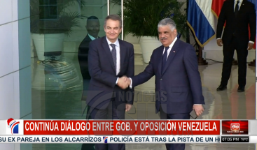 Gobierno y oposición de Venezuela permanecen reunidos para buscar solución a crisis política en ese país