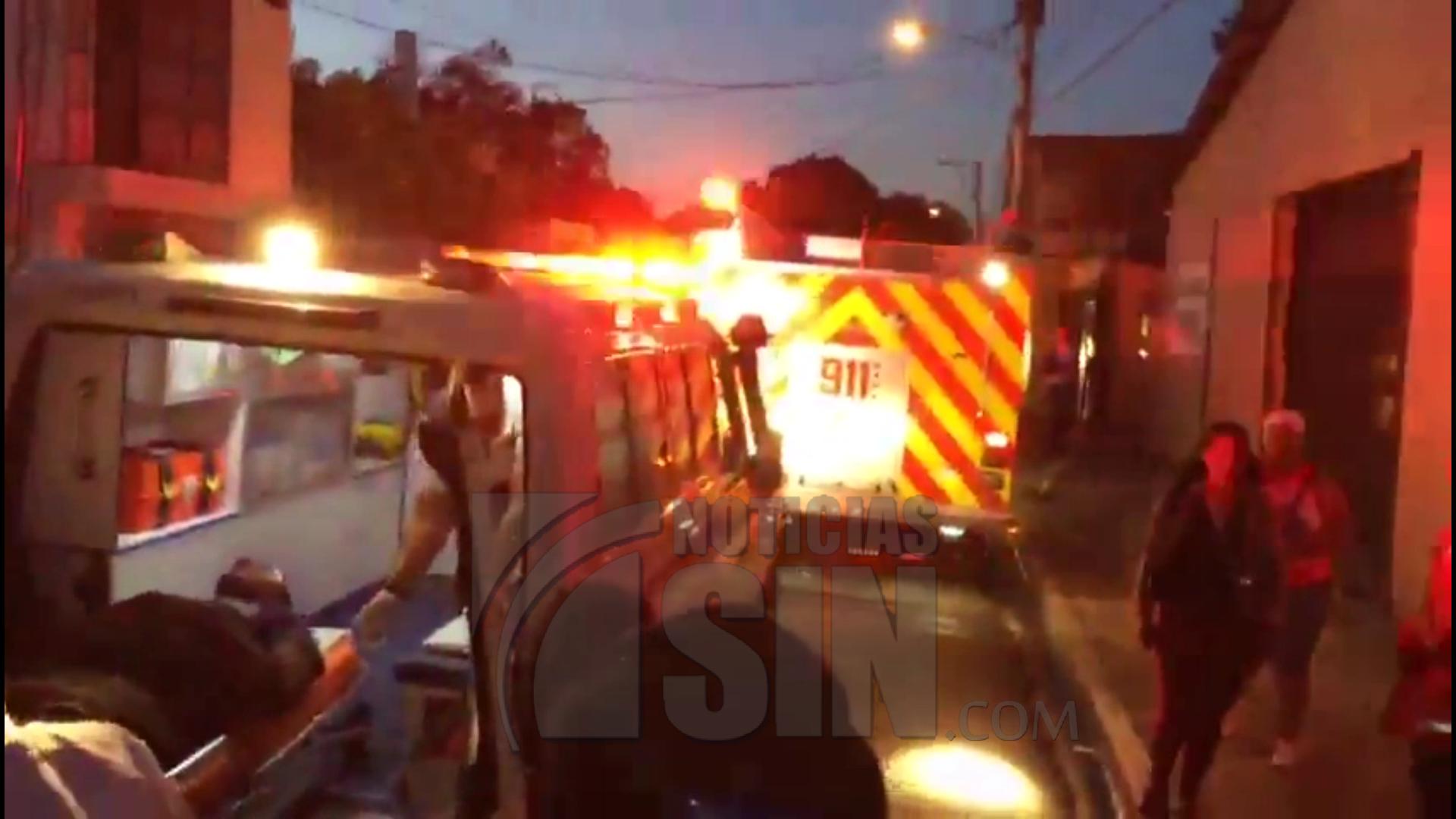 Fuego en fábrica de tabaco de Navarrete deja un bombero herido y cuantiosos daños