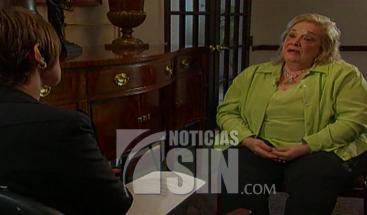 A propósito de la aspiración presidencial del nieto del dictador, compartimos entrevista realizada por El Informe a Angelita Trujillo