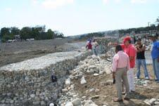 Pescadores de Rio San Juan exigen construcción de un muro de contención