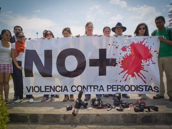 México ha sido este año el país con el mayor número de periodistas asesinados