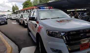 Desplazan vehículos para prevenir accidentes en la región Norte, Sur, Este y asistir a la población