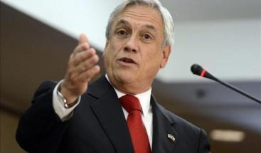 Piñera repasa políticas seguridad en Chile con ministro Interior de Bachelet
