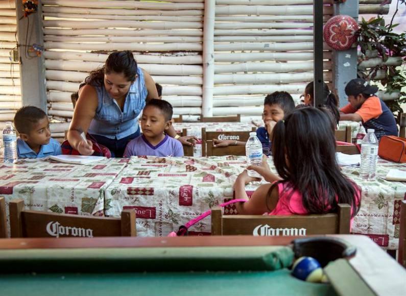 Unicef alerta que más de 900 niños aún están sin clases tras sismos en México
