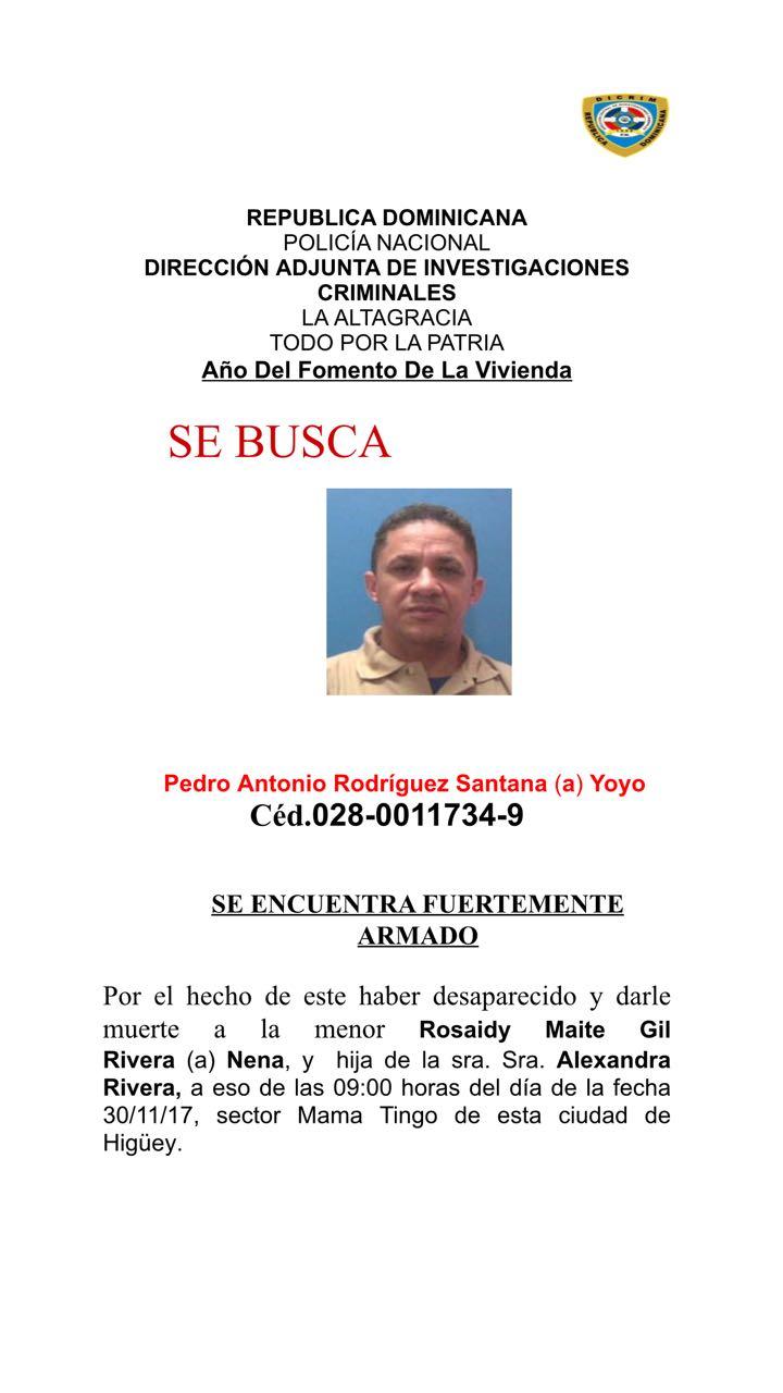 Perfil del hombre señalado como sospechoso en muerte de menor de 11 años