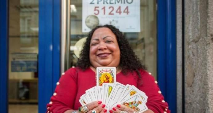 Dominicana vidente gana premio de la Lotería de Navidad en España
