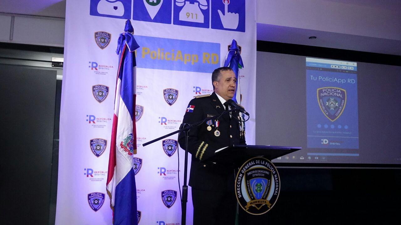 Policía pone en funcionamiento aplicación móvil para reportar actos delictivos