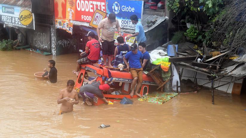 Cerca de 90 personas muertas y decenas desaparecidas por un alud en Filipinas