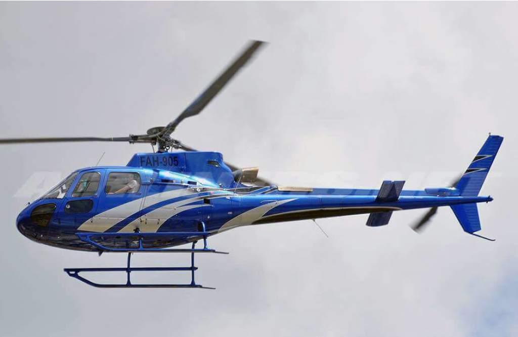Desaparece helicóptero en el que viajaba hermana del presidente de Honduras
