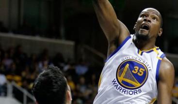 Durant afianza a los Warriors como líderes