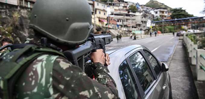 Dos muertos y cinco heridos en una operación policial en Río de Janeiro