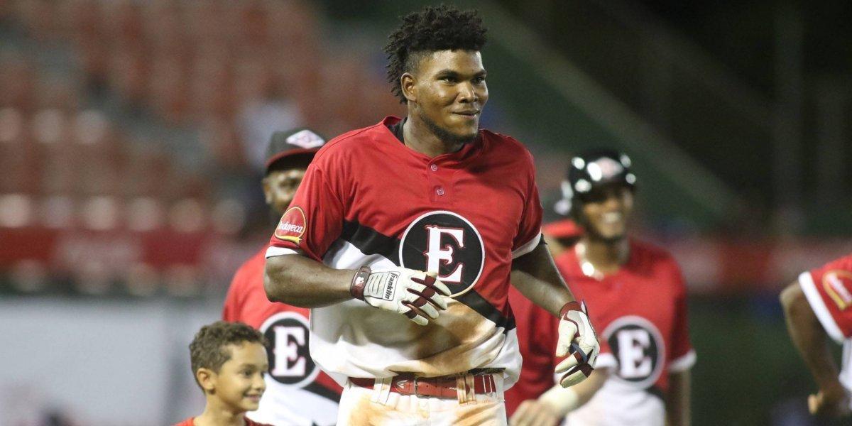 Cordero fue elegido Jugador Más Valioso y Novato del Año, béisbol dominicano