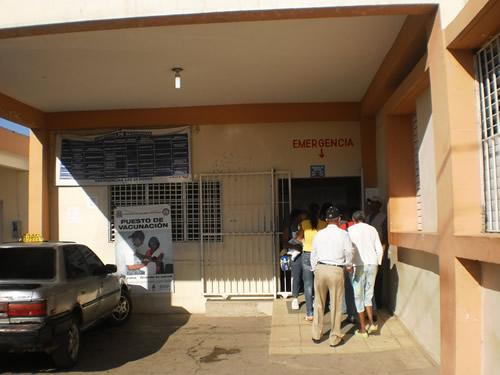 Algunos de los Intoxicados con clerén son llevados al hospital de Dajabón