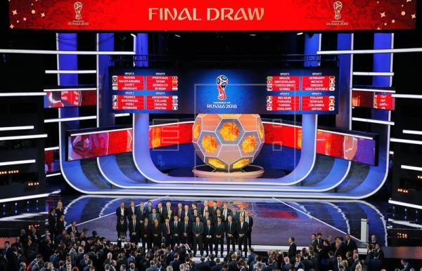Rusia-Arabia Saudí será el partido inaugural del Mundial de fútbol