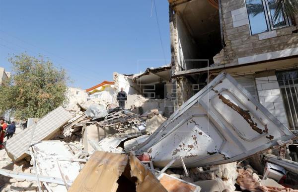 Un nuevo terremoto de magnitud 6,2 sacude el sureste de Irán