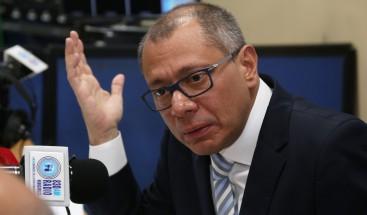 Defensa de vicepresidente Ecuador se queja de falta de notificación sentencia