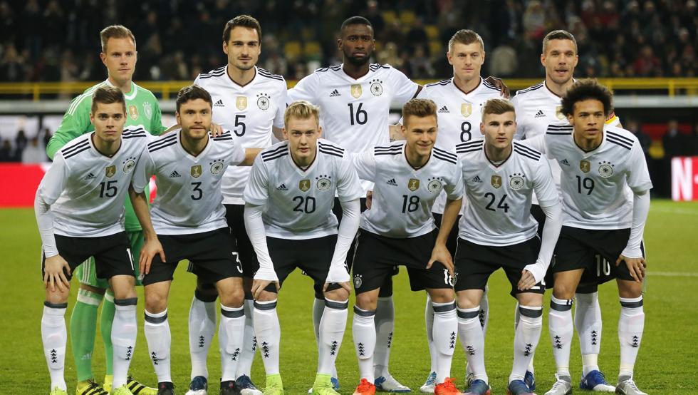 Jugadores alemanes recibirán prima de 350.000 euros si ganan Mundial de Rusia