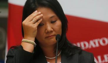 Keiko se presenta ante audiencia que decidirá su prisión preventiva