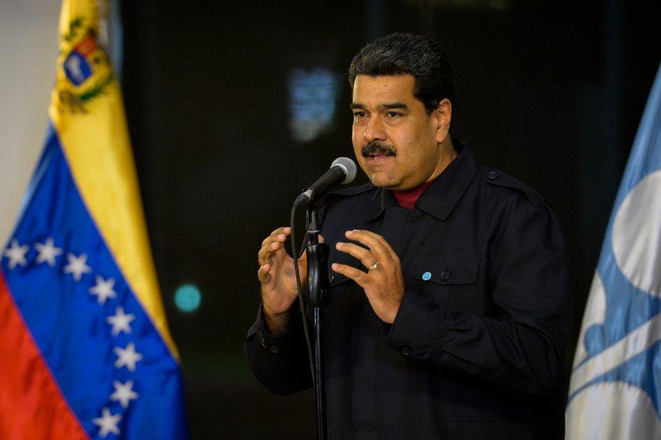 Maduro califica de ilegal la decisión de EEUU sobre Jerusalén