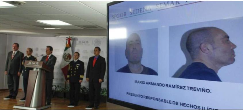 México extradita a EEUU a ex líder de cártel Golfo y a consuegro de